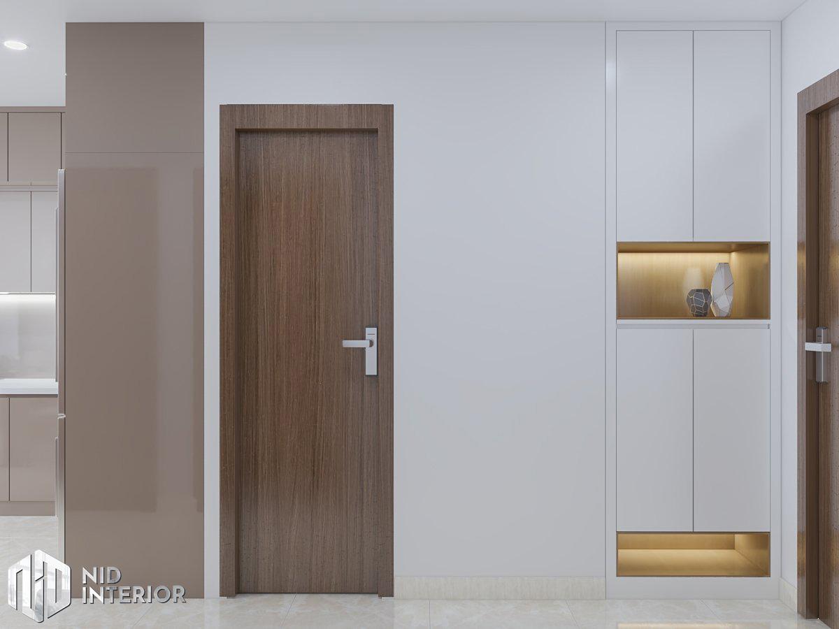 Thiết kế nội thất căn hộ Centum Wealth 2 phòng ngủ - Tủ giày