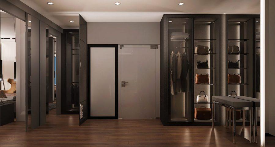 Khi chọn phong cách cho tủ quần áo, hãy xem xét phong cách của căn phòng của bạn