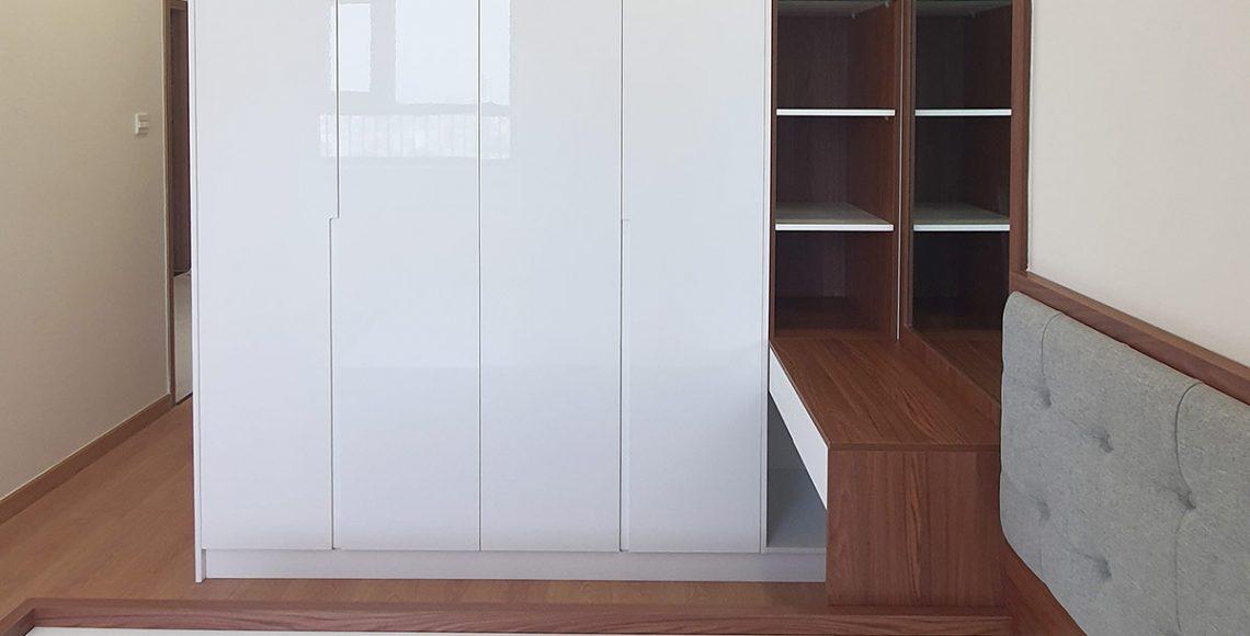 Bàn giao nội thất căn hộ Centum Wealth 2 phòng ngủ - Hình 1