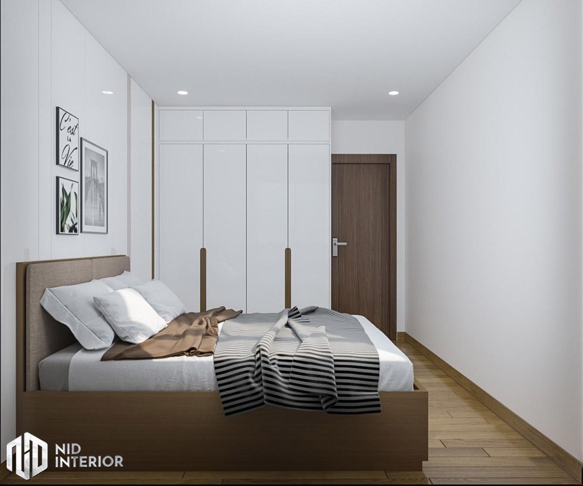 Thiết kế nội thất căn hộ Conic Riverside 66m2 - Phòng ngủ nhỏ