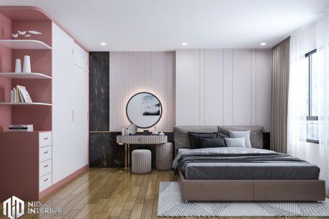 Thiết kế nội thất căn hộ Conic Riverside 66m2