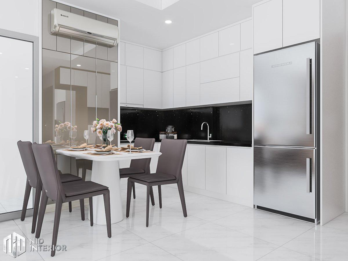 Thiết kế nội thất căn hộ Conic Riverside 66m2 - Khu bếp