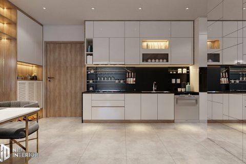 Thiết kế nội thất căn hộ chung cư De Capella 50m2