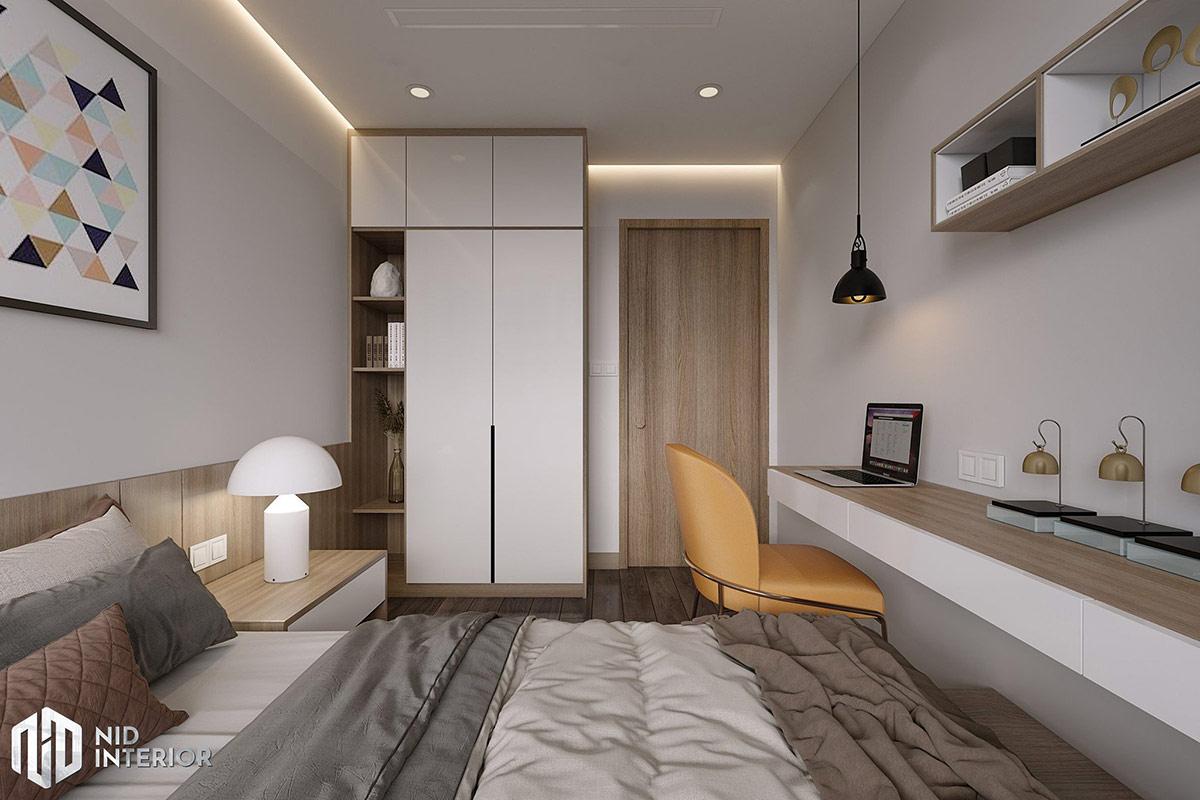 Thiết kế nội thất Saigon South Residences - Phòng ngủ nhỏ