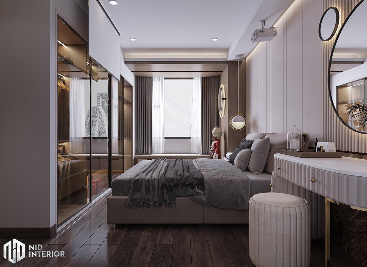 Thiết kế nội thất Saigon South Residences - Phòng ngủ master