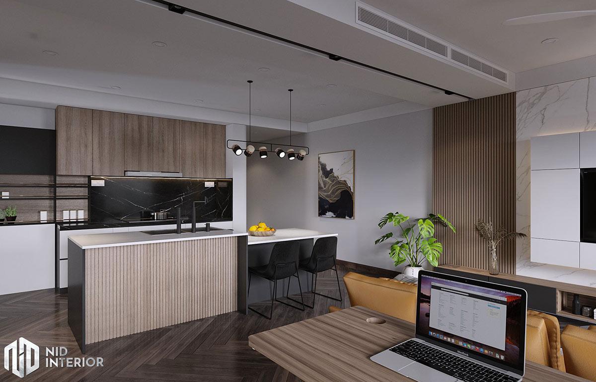 Thiết kế nội thất Saigon South Residences - Khu bếp