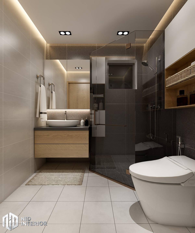 Thiết kế nội thất Saigon South Residences - Phòng vệ sinh