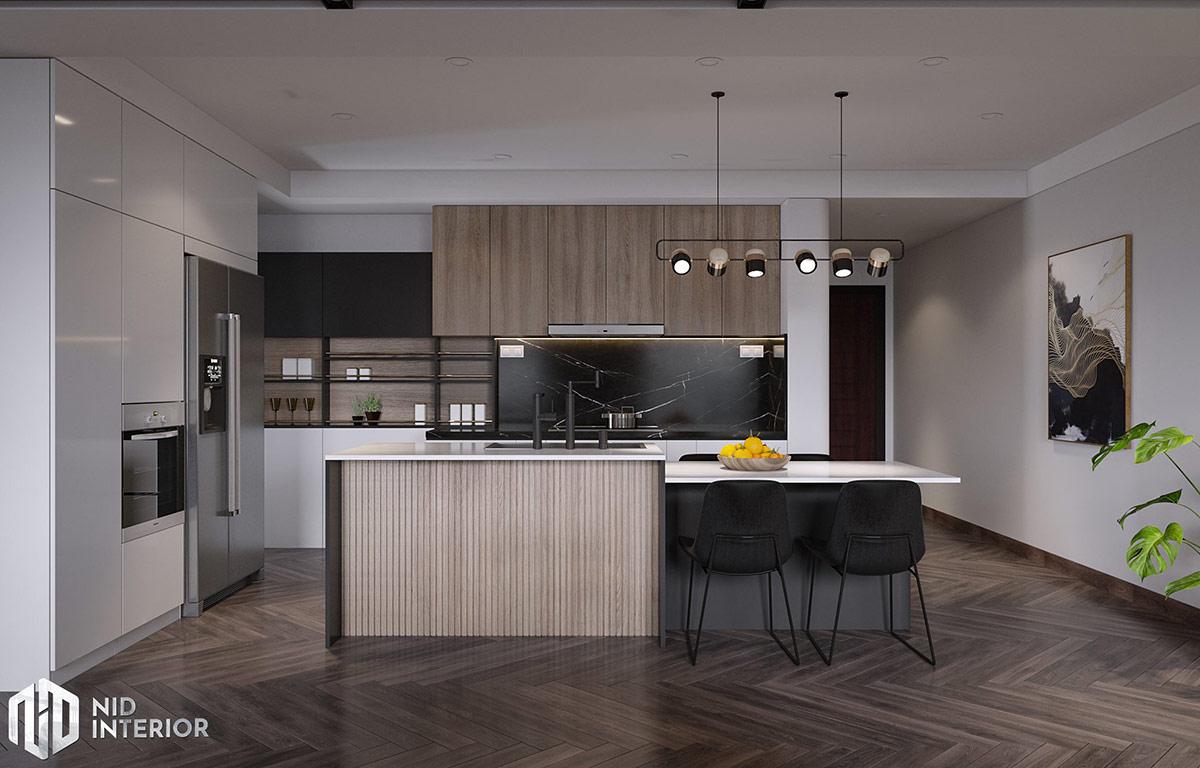 Thiết kế nội thất Saigon South Residences - Bếp