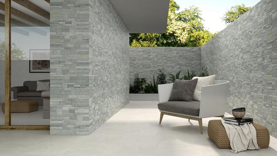 Gạch tự nhiên ốp tường đẹp