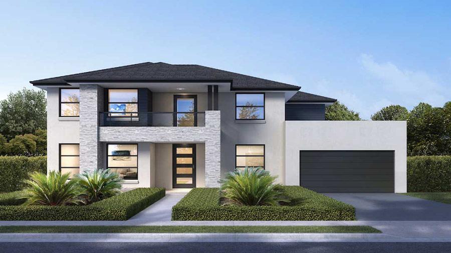 Mẫu nhà 2 tầng đẹp - Hình 10