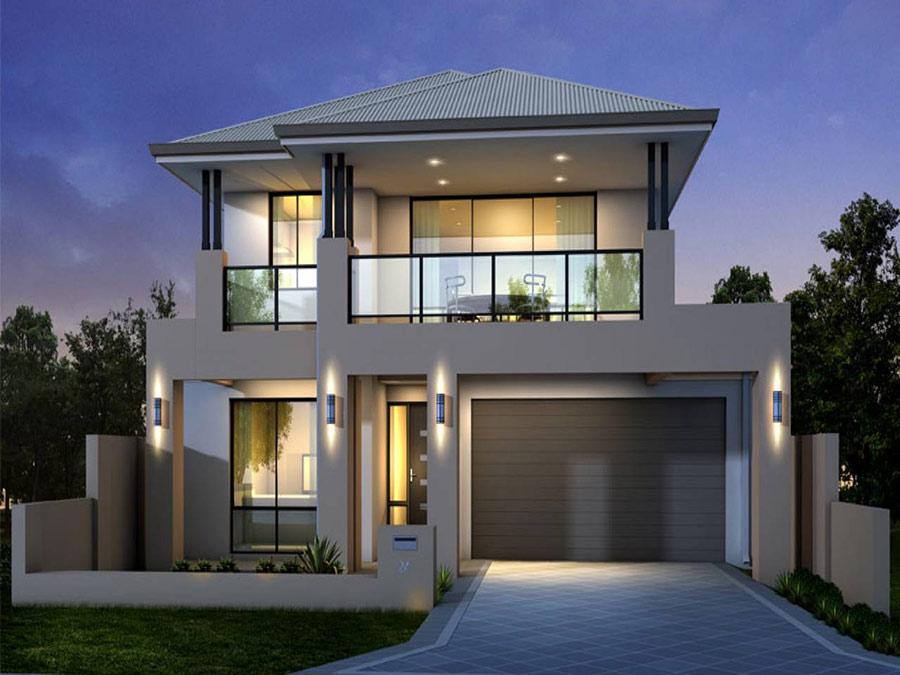 Mẫu nhà 2 tầng đẹp - Hình 3