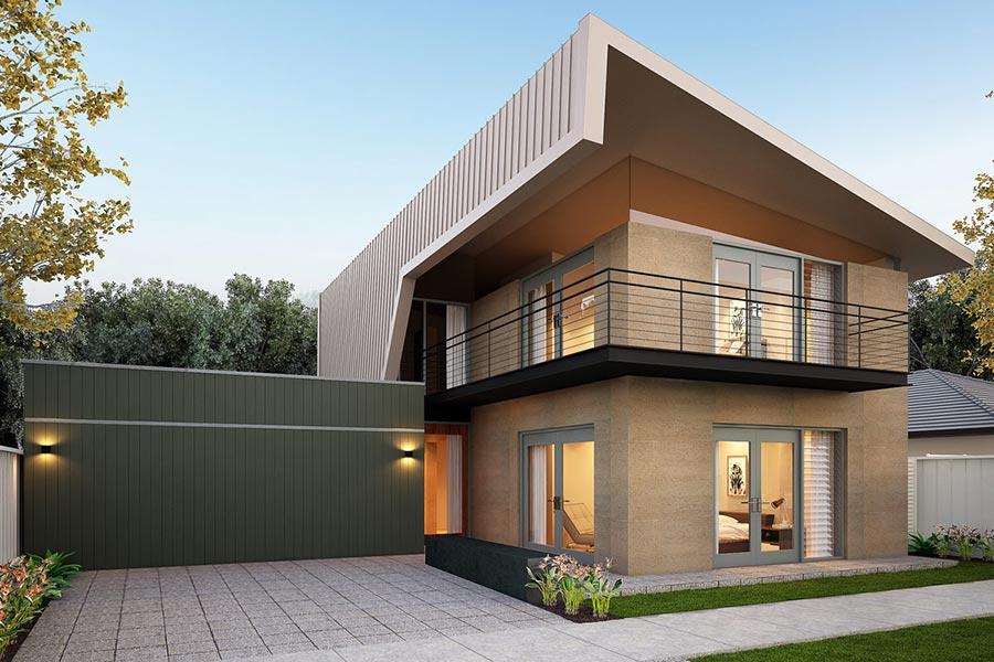 Mẫu nhà 2 tầng đẹp - Hình 5