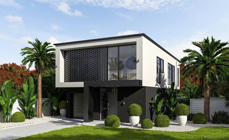 Mẫu nhà 2 tầng đẹp - Hình 8
