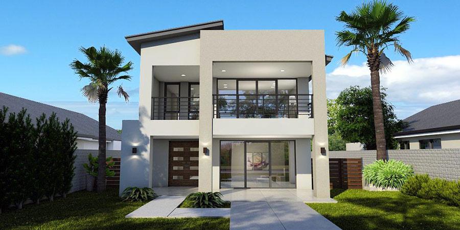 Mẫu nhà 2 tầng đẹp - Hình 9