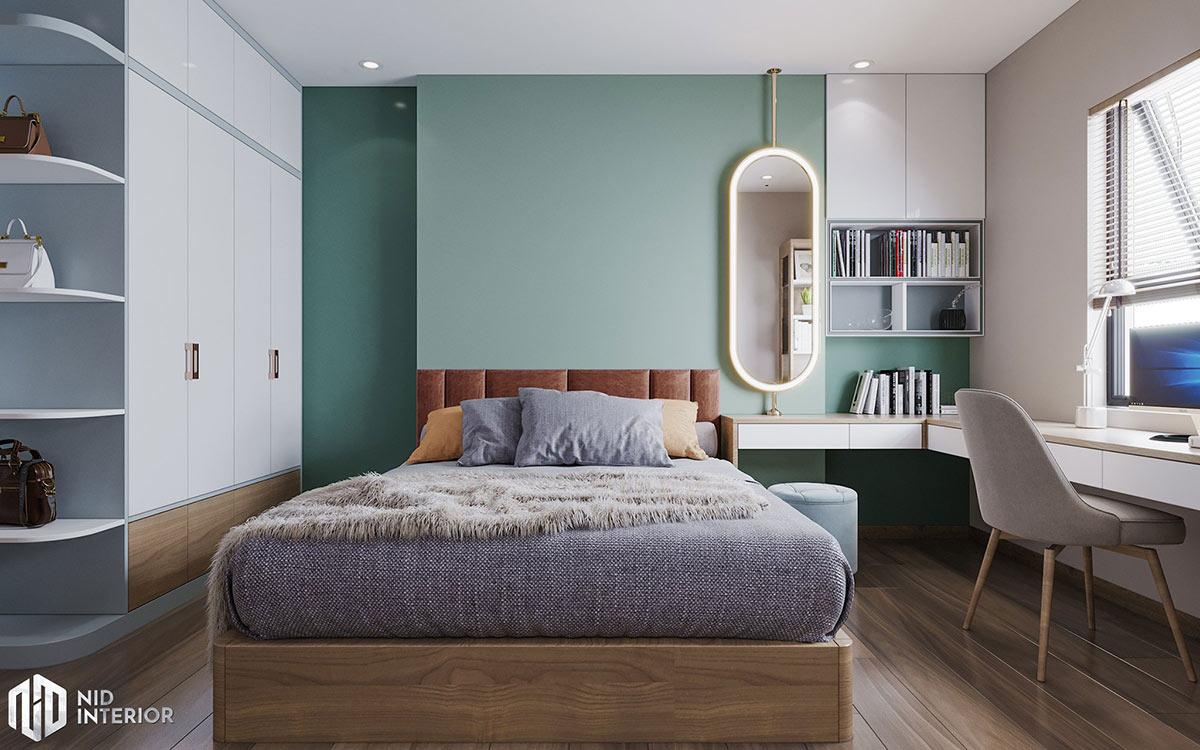Thiết kế nội thất căn hộ Centum Wealth 94m2 - Phòng ngủ Master