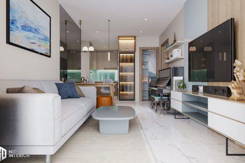Thiết kế nội thất căn hộ Centum Wealth 94m2