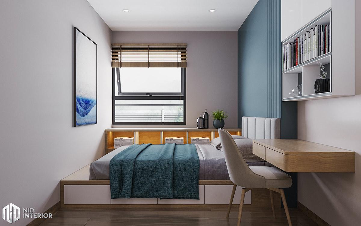 Thiết kế nội thất căn hộ Centum Wealth 94m2 - Phòng ngủ bé trai