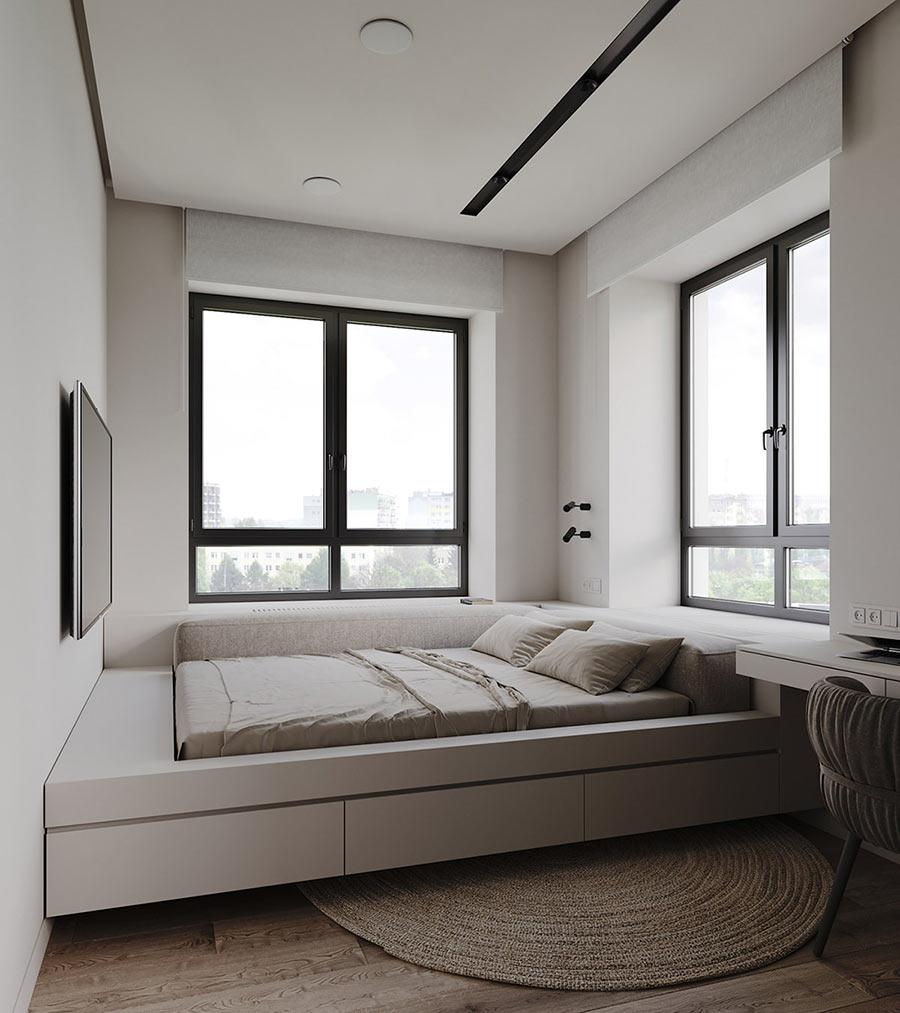 Giường ngủ bục - Sự lựa chọn hoàn hảo cho phòng ngủ nhỏ