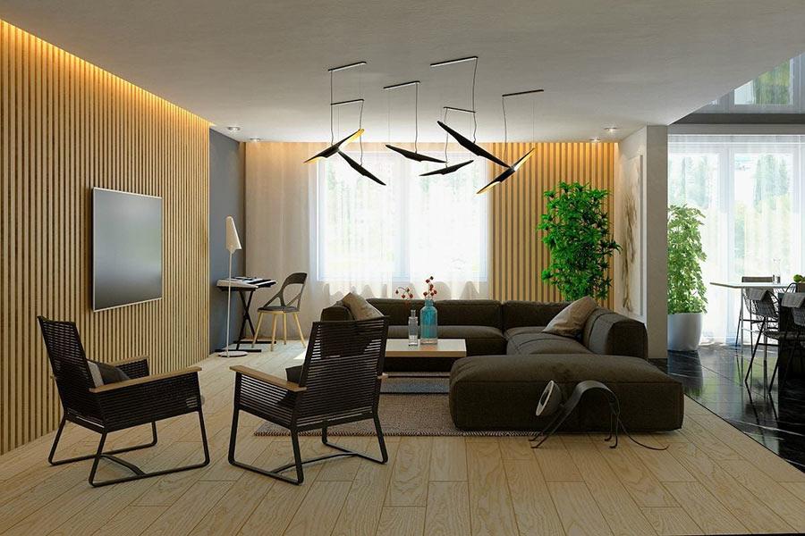 Lam gỗ là gì? Ứng dụng của lam gỗ đẹp trong nội thất nhà ở