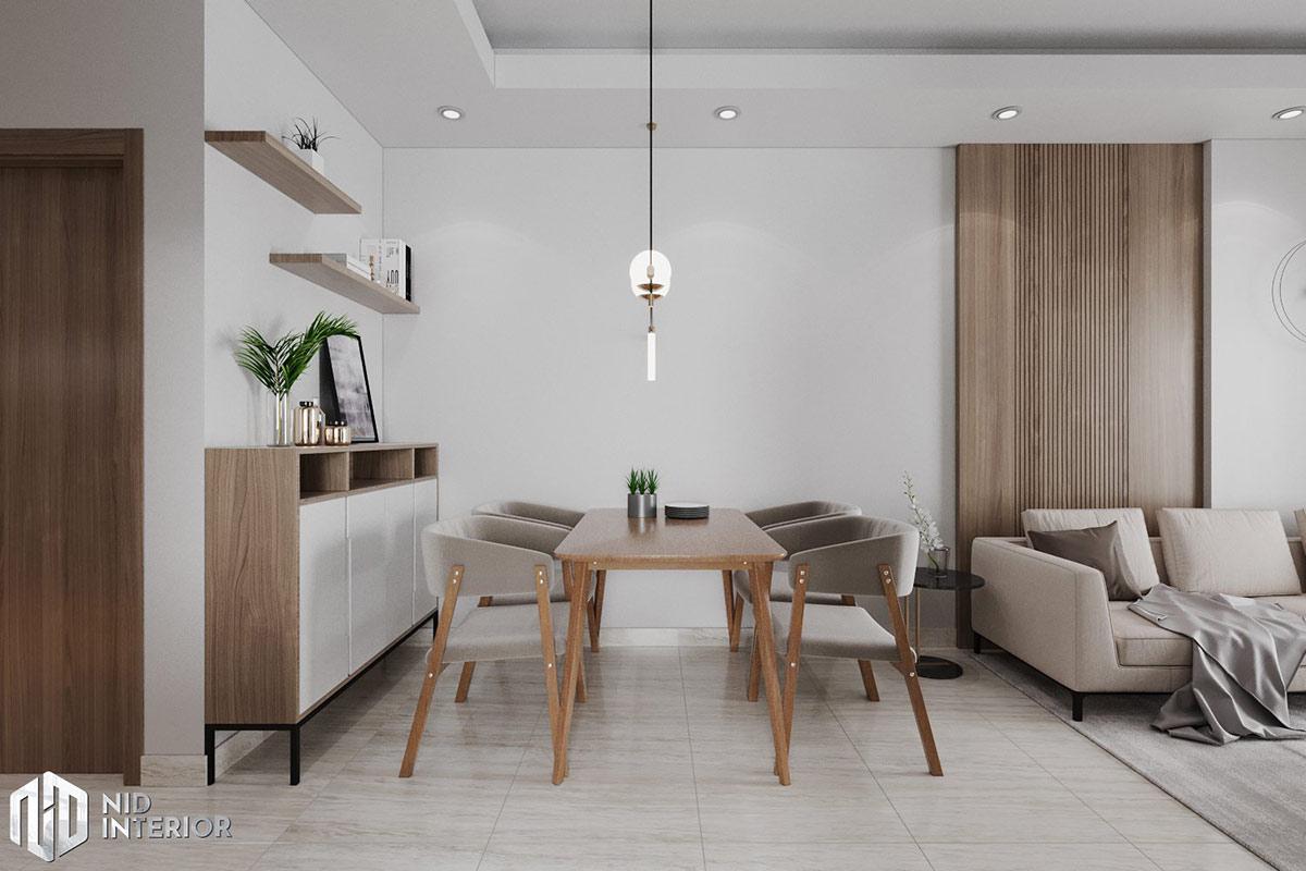 Thiết kế nội thất căn hộ Lavita Charm 67m2 - Bàn ăn