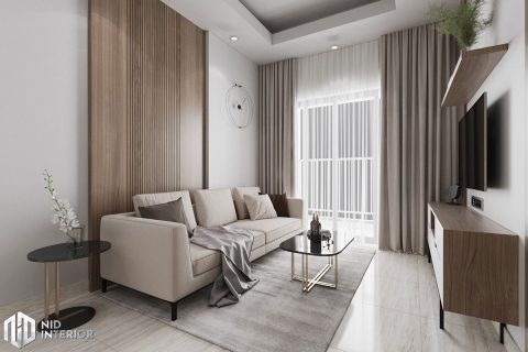 Thiết kế nội thất căn hộ Lavita Charm 67m2
