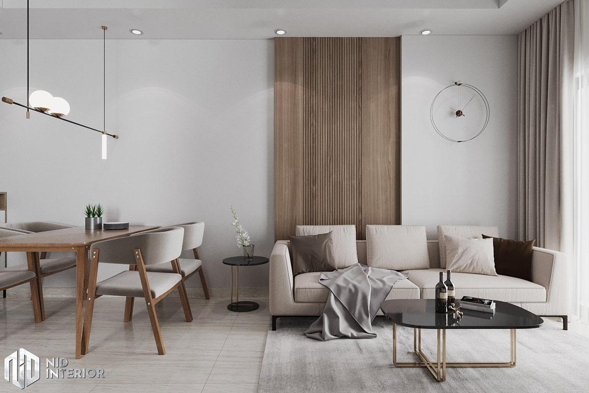 Thiết kế nội thất căn hộ Lavita Charm 67m2 - Sofa