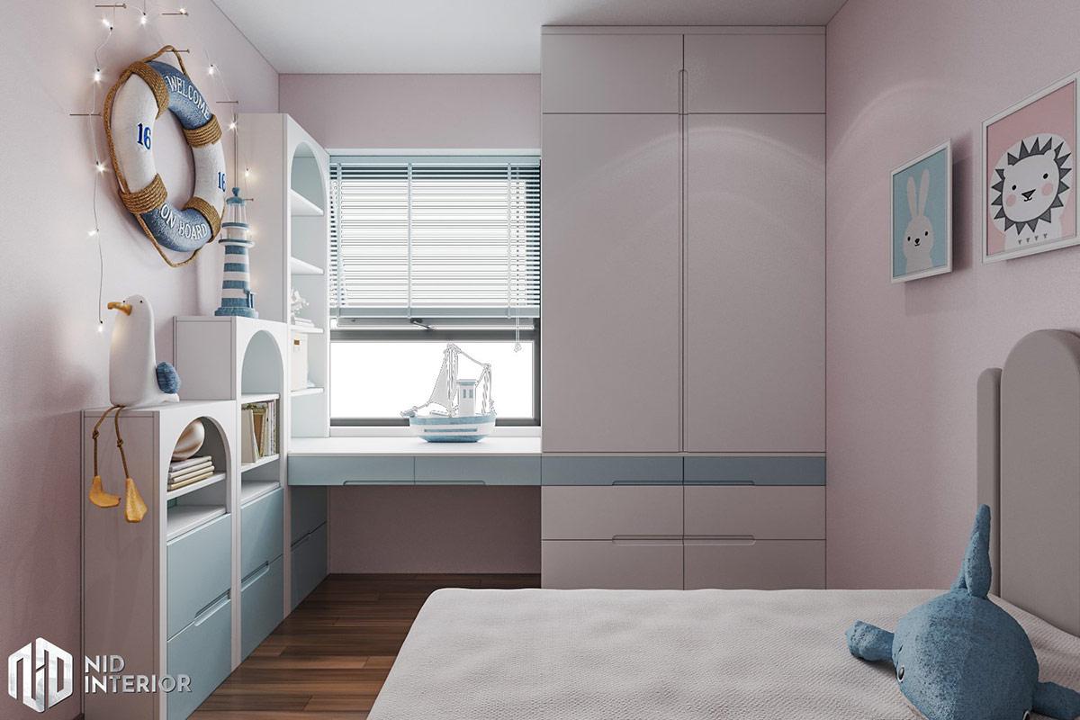 Thiết kế nội thất căn hộ Lavita Charm 67m2 - Phòng trẻ em