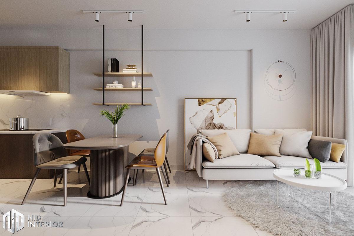 Thiết kế nội thất căn hộ Lovera Vista Bình Chánh - Bàn ăn