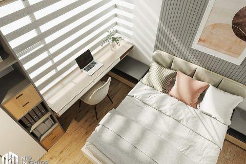 Thiết kế nội thất căn hộ Flora Novia 56m2
