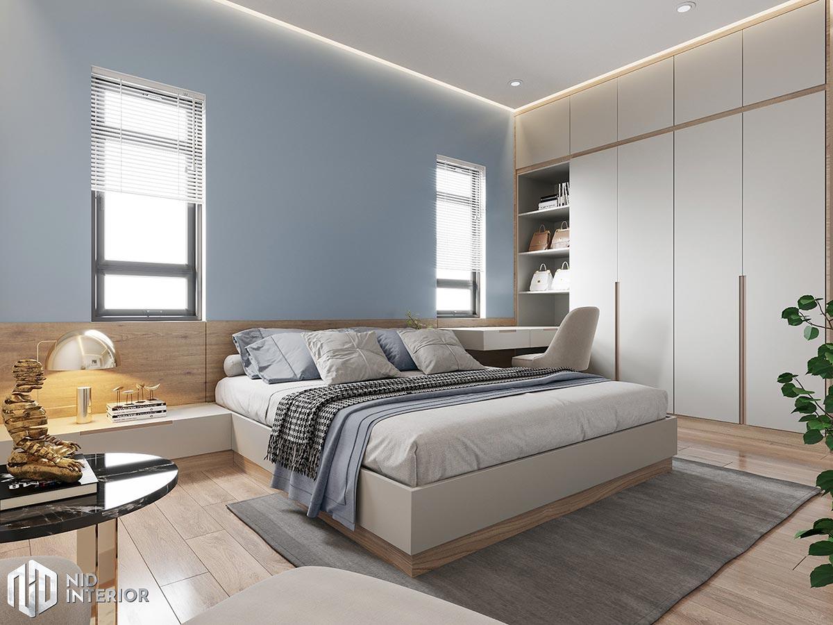 Thiết Kế Kiến Trúc & Nội Thất Nhà Đẹp Tiền Giang - Phòng ngủ nhỏ